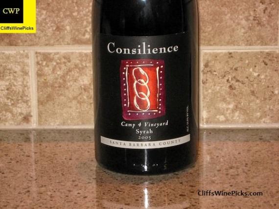 2005 Consilience Syrah Camp 4 Vineyard