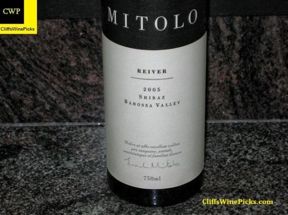 2005 Mitolo Shiraz Reiver