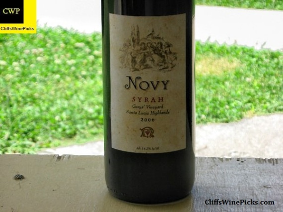 2006 Novy Family Wines Syrah Garys Vineyard
