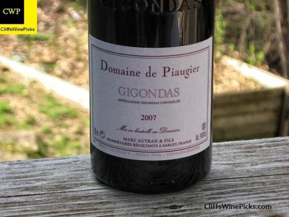 2007 Domaine de Piaugier Gigondas