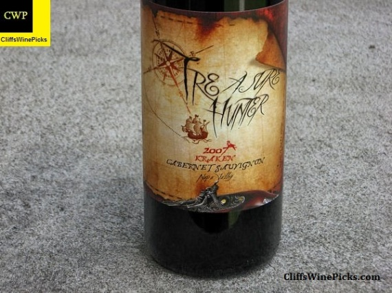 2007 Treasure Hunter Wines Cabernet Sauvignon Kraken
