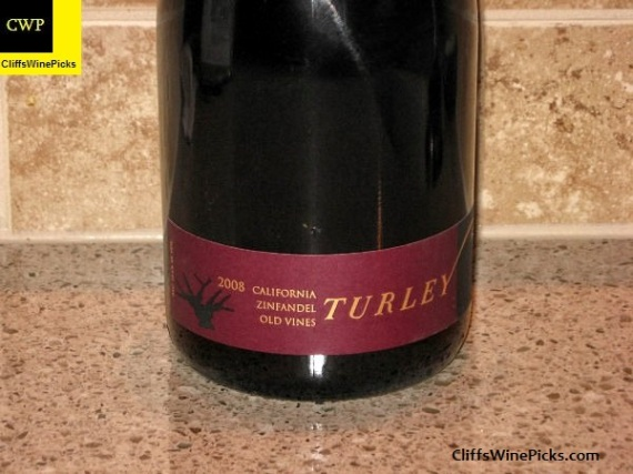 2008 Turley Zinfandel Old Vines