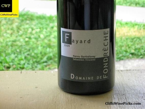 2009 Domaine de Fondrèche Côtes du Ventoux Cuvée Fayard