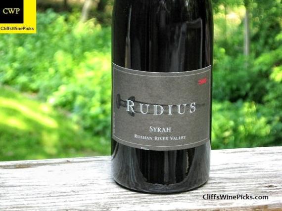 2005 Rudius Syrah