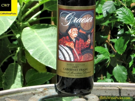 2007 Graeser Cabernet Franc Estate Grown