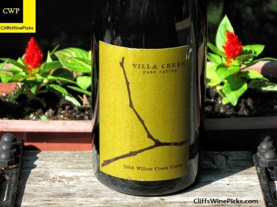 2008 Villa Creek Willow Creek Cuvee