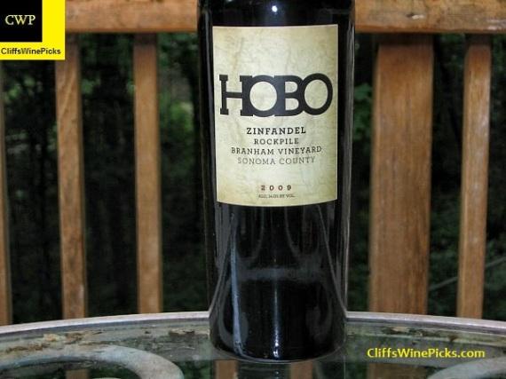 2009 Hobo Wine Company Zinfandel Branham Vineyard Rockpile