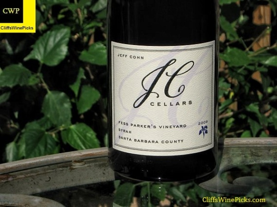 2009 JC Cellars Syrah Fess Parker Vineyard