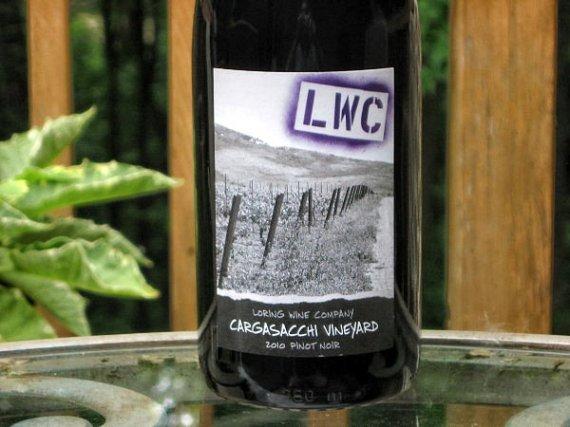 2010 Loring Pinot Noir Cargasacchi Vineyard