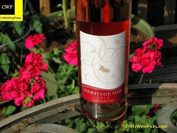 2012 Heritage Oak Grenache Rose