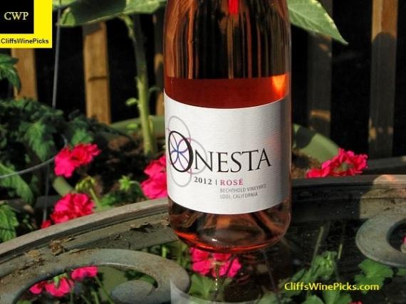 2012 Onesta Cinsault Rose