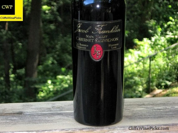 2005 Jacob Franklin Cabernet Sauvignon Hoffman Lane