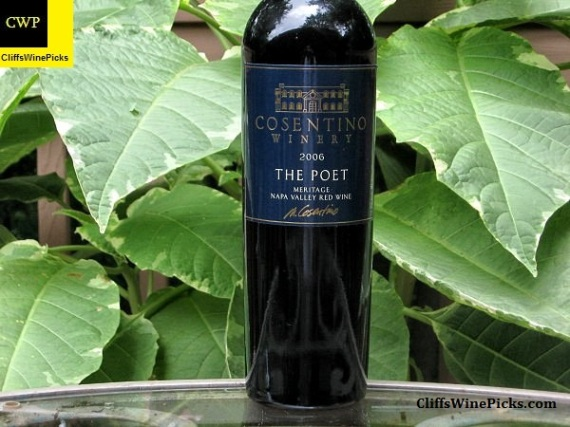 2006 Cosentino Winery The Poet
