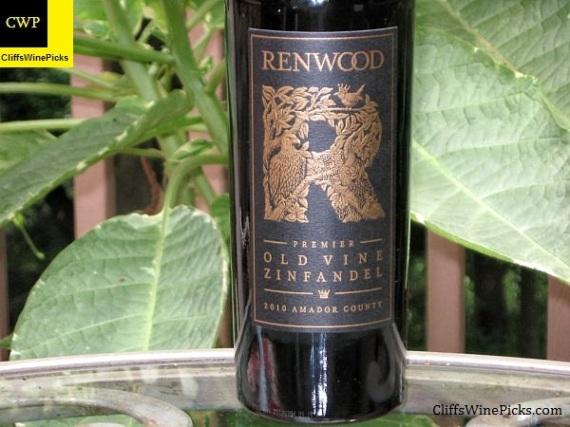 2010 Renwood Zinfandel Premier Old Vine