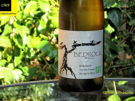 2011 Bedrock Wine Co Sauvignon Blanc Kick Ranch