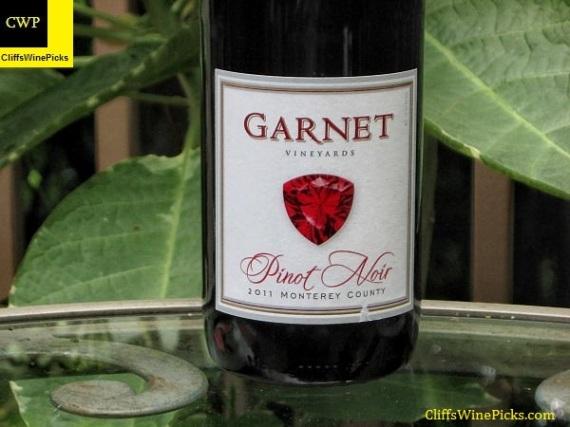 2011 Garnet Pinot Noir Monterey County Pinot Noir