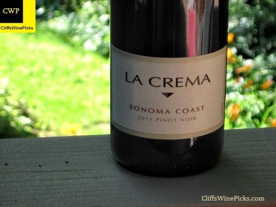 2011 La Crema Pinot Noir Sonoma Coast