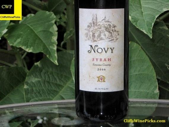 2006 Novy Family Wines Syrah Sonoma County
