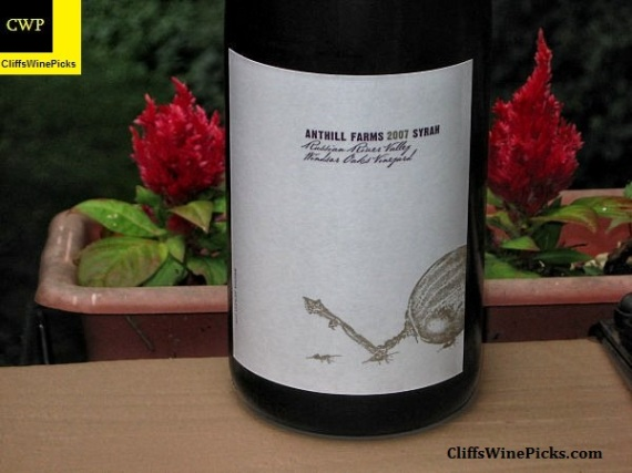 2007 Anthill Farms Syrah Windsor Oaks Vineyard