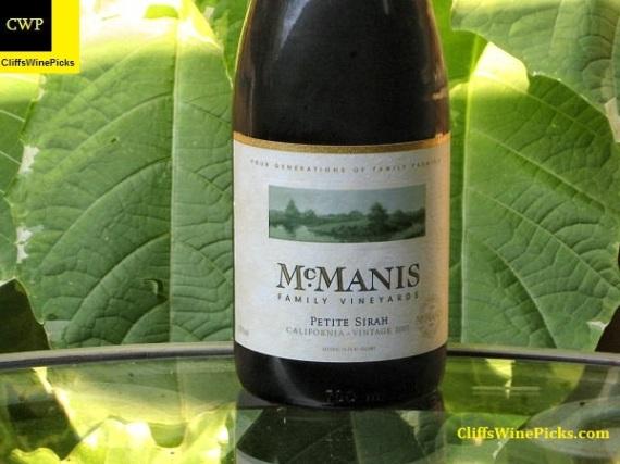 2007 McManis Family Vineyards Petite Sirah