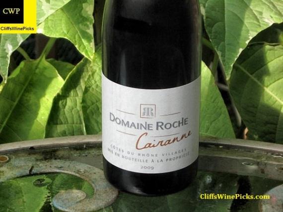 2009 Domaine Roche Cotes du Rhone Villages Cairanne