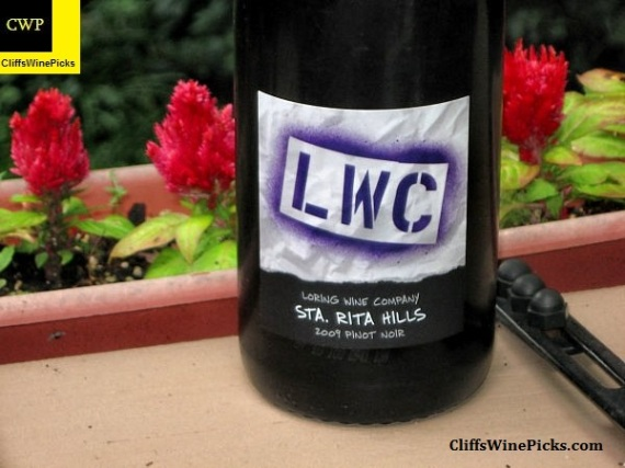 2009 Loring Wine Company Pinot Noir Sta Rita Hills
