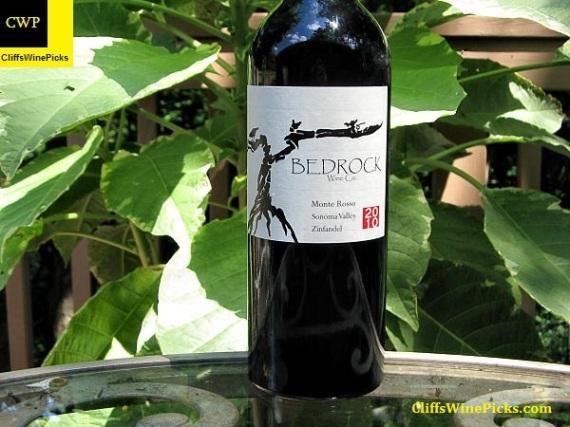 2010 Bedrock Zinfandel Monte Rosso Vineyard