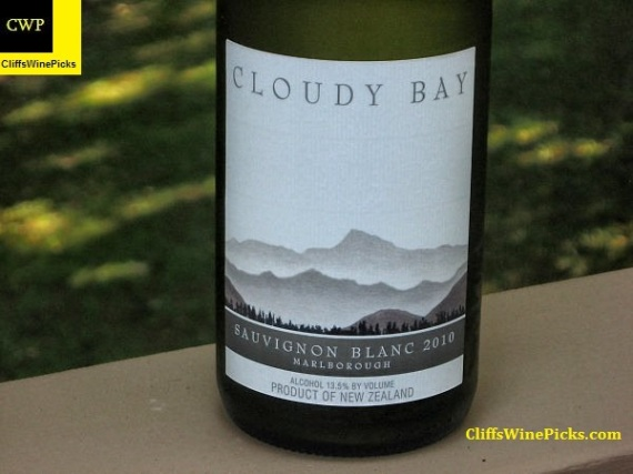 2010 Cloudy Bay Sauvignon Blanc