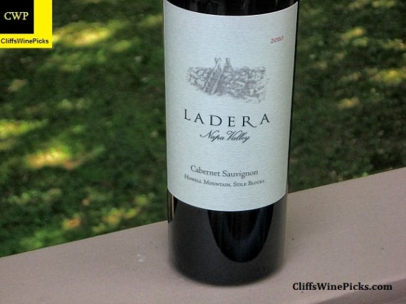 2010 Ladera Cabernet Sauvignon Stile Blocks