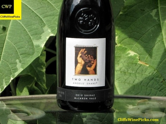 2010 Two Hands Shiraz Angels Share