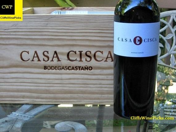 2004 Bodegas Castano Yecla Casa Cisca