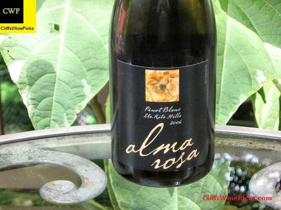 2006 Alma Rosa Pinot Blanc Sta Rita Hills
