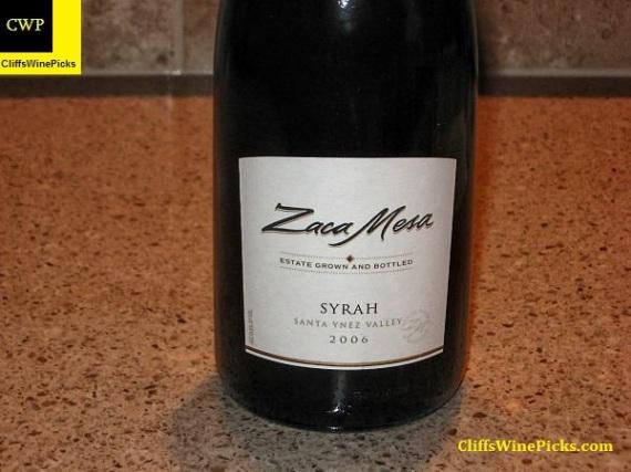 2006 Zaca Mesa Syrah