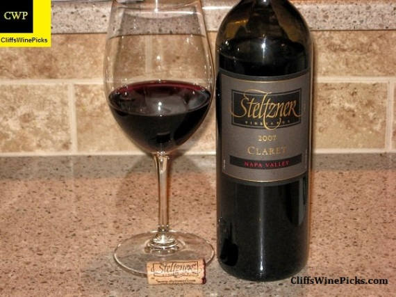 2007 Steltzner Vineyards Claret