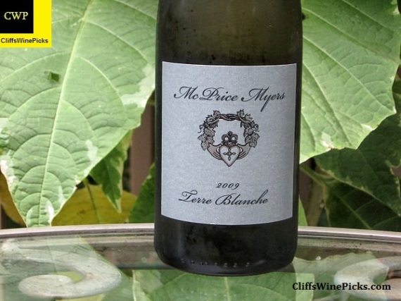 2009 McPrice Myers Terre Blanche