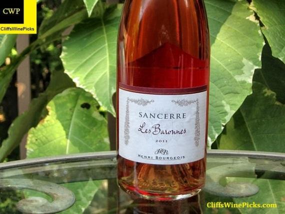 2011 Henri Bourgeois Sancerre Rose Les Baronnes