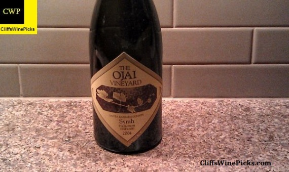 2004 Ojai Syrah Thompson Vineyard