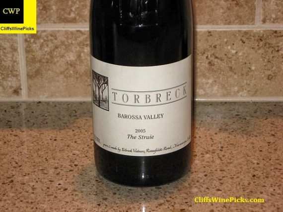 2005 Torbreck Shiraz The Struie