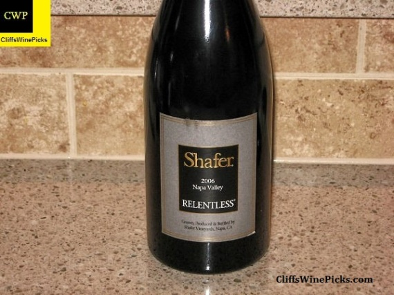 2006 Shafer Relentless