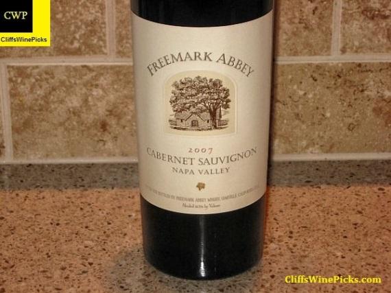 2007 Freemark Abbey Cabernet Sauvignon