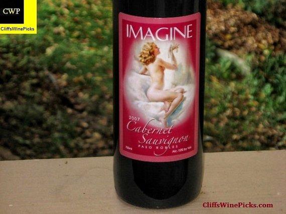 2007 Imagine Wine Cabernet Sauvignon Paso Robles