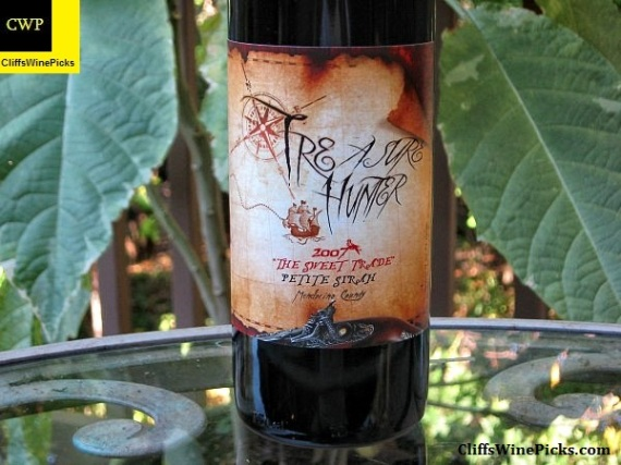 2007 Treasure Hunter Wines Petite Sirah The Sweet Trade