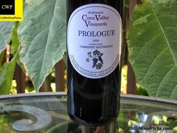 2008 Anderson's Conn Valley Vineyards Cabernet Sauvignon Prologue