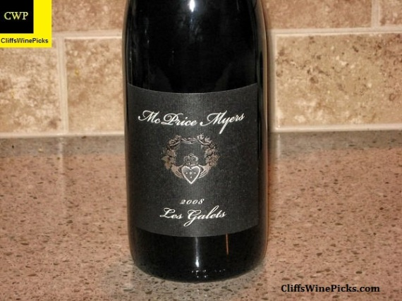 2008 McPrice Myers Syrah Les Galets