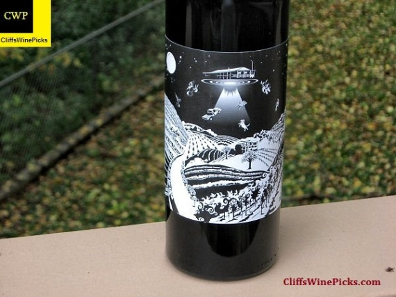 2009 One Time Spaceman Reserve Airspace James Berry Vineyard