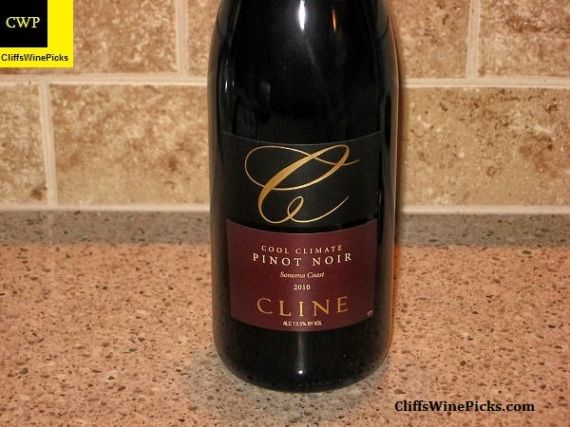 2010 Cline Cellars Pinot Noir Cool Climate
