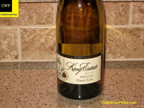2010 King Estate Pinot Gris Signature Collection