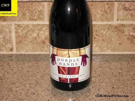 2010 Purple Hands Pinot Noir Stoller Vineyard