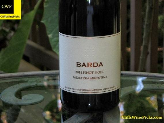 2011 Bodega Chacra Pinot Noir Barda