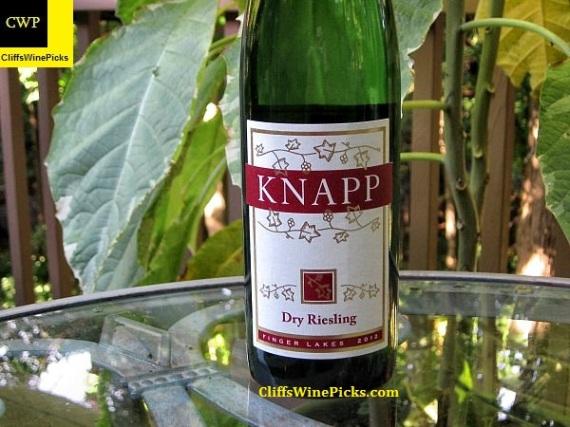 2012 Knapp Vineyards Riesling Dry Finger Lakes